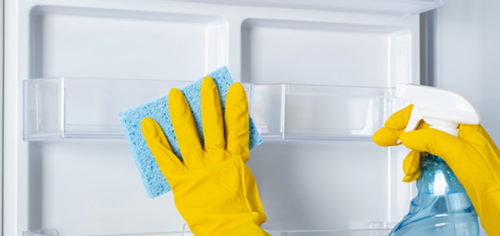 5 ways to clean the refrigerator Make it brand new