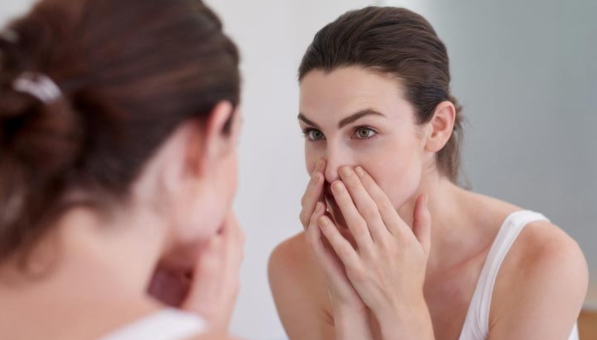 5 ways to hide large pores Skin problems