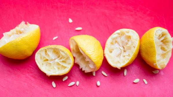 Benefits of lemon peel Squeeze